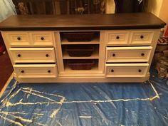Hometalk :: Dresser Turned Entertainment Center