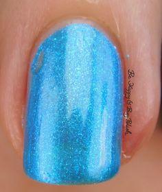 Sinful Colors Bayou Babes Blue Bayou macro   Be Happy And Buy Polish https://behappyandbuypolish.com/2017/04/06/sinful-colors-bayou-babes-nail-polish-collection-swatches-review/