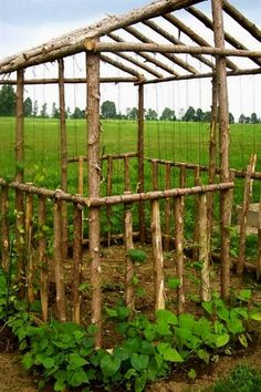 This is awesome! Garden Art should be a part of your veggie garden. Farm Gardens, Outdoor Gardens, Design Jardin, Vertical Gardens, Vertical Planting, My Secret Garden, Garden Structures, Edible Garden, Dream Garden