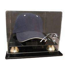 Carolina Panthers NFL Cap Display Case