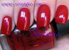OPI Fall/Winter 1991 - International Collection:  French Bordeaux *retired*