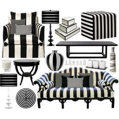 Stripes....yup perfect for my blck & white room! (粗線)