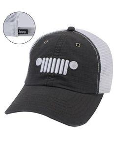Jeep Grille Logo Hat