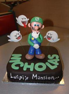 Cake gallery luigi cake luigi and birthdays luigis mansion birthday bing images filmwisefo