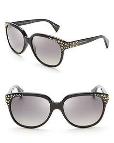 Alexander McQueen Studded Cat Eye Sunglasses | Bloomingdale's