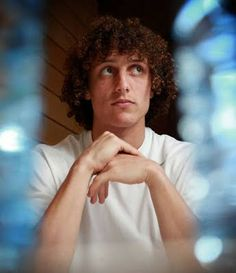 David Luiz - to contemplate the wonder that he is sends me staring into space...come to think of it, that's probably what's got him thinking =D