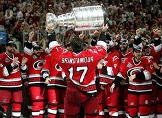 Canes hockey, baby!