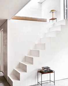 Built in staircase, styling by Pernille Vest