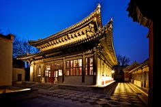 just had drinks some nights ago at the temple restaurant - which is a complex of buildings around an old lama temple close to the forbidden city turned to a hotel, restaurant & exhibition space...so beautiful
