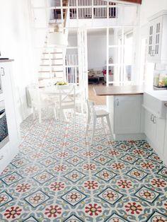Hallway Flooring, Wooden Kitchen, Malaga, Tile Floor, Tiles, Loft, Kids Rugs, Building, Modern