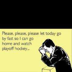 Hockey Playoff time!