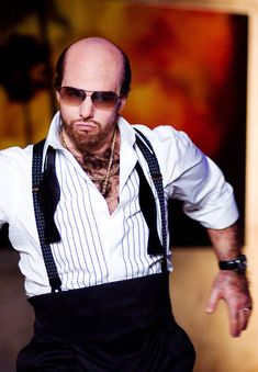 Tom Cruise in Tropic Thunder. And my favorite Tom Cruise Role and there's only two.