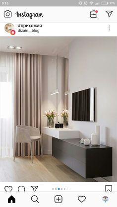 ✔ 70 best minimalist bedroom design you must try 25 Tv In Bedroom, Home Decor Bedroom, Living Room Decor, Bedroom Ideas, Master Bedroom, Indie Bedroom, Master Master, Bedroom Brown, Silver Bedroom