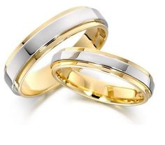 Gold Wedding Rings Sets Ring Beauty His Hers