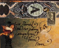 mail art by lord marmalade, via Flickr
