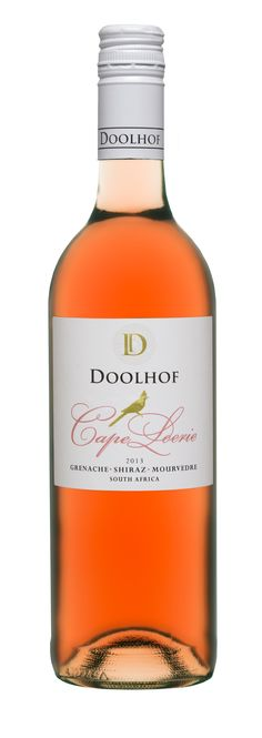 Doolhof Cape Loerie Rose 2013 - A Rosé with abundant fruit synonymous with warm summer days.