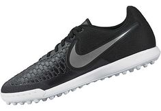 Nike MagistaX Pro TF Soccer Shoes - Black   White - SoccerPro.com 737c5d20fd