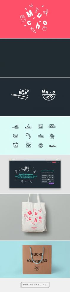 Mucho on Behance... - a grouped images picture - Pin Them All