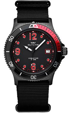 Glycine Watch Combat SUB Quartz #bracelet-strap-synthetic #brand-glycine #case-depth-9-75mm #case-material-steel-black-pvd #case-width-40mm #date-yes #delivery-timescale-call-us #dial-colour-black #gender-mens #movement-quartz #official-stockist-for-glycine-watches #packaging-glycine-watch-packaging #subcat-combat #supplier-model-no-3913-99-tb99 #warranty-glycine-official-2-year-guarantee #water-resistant-200m