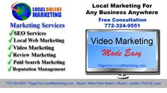 BUSINESS REPUTATION MANAGEMENT PageOne-LocalMarketing.com (772) 324-9551. Are you a Port St Lucie business that's having trouble getting your clients and cus...