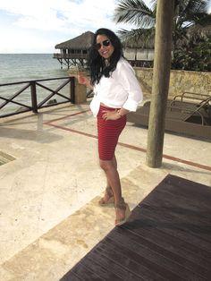 Beachy gal/love this Madewell skirt