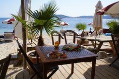 Restaurant sur la plage du Mourillon à Toulon - Le Lido