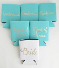 Bridesmaid Gift Bridal Party Gifts Can be by PoppyandErie on Etsy