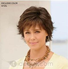 Custom Exquisite Women's Hairstyle Short Straight about 6Inches Light Auburn 100% Human Hair Wig