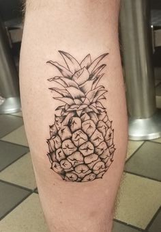 Pineapple by KJ Robinson at Magick Dragon Tattoo Lawrenceville GA Japanese tattoo sleeve btctrader1.weebly.com
