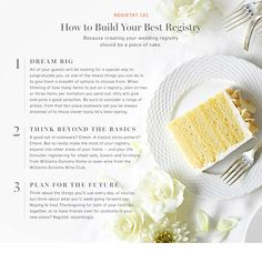 Wedding Registry Checklist | Williams-Sonoma