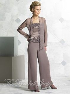 04e81551d18 The Mother of the Bride holds one of the most important jobs of the wedding.  Formal PantsDressy Pant SuitsGroom DressBride ...