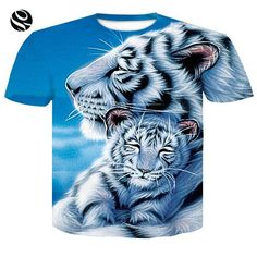 44fc247b4834 Men Women 3D Print T-Shirt - Skulls   Animal Print