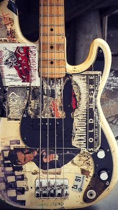 Matt Freeman's Original 1977 Fender P Bass