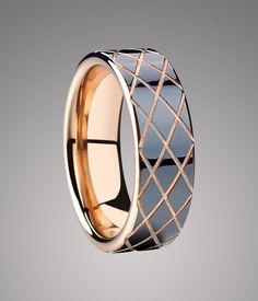 30 Best Tungsten Rose Gold Rings For Men Images Rings Tungsten