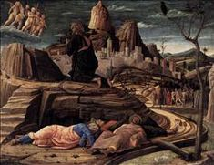 Agony in the Garden by MANTEGNA, Andrea