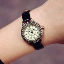 Harajuku estilo antigo relógio de quartzo mulheres marca de luxo famosos 2016 relógio de pulso feminino relógio relógio de pulso senhoras meninas de quartzo - assista(China (Mainland))