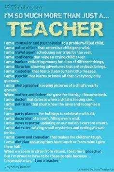 So Much More Than Just A Teacher