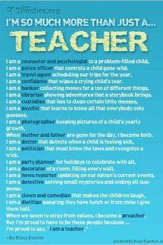 So Much More Than Just A Teacher