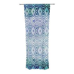 KESS InHouse Tribal Empire Curtain Panels