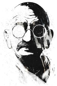 """An eye for an eye only ends up making the whole world blind."" - Mahatma Gandhi"