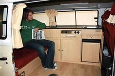 Volkswagen Vans, Campers Vans, Camper Vans, Bus Ideas, Bus Interiors ...