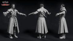 ArtStation - The Witcher III - Dettlaff, Marcin Blaszczak The Witcher Wild Hunt, The Witcher 3, 3d Character, Character Design, Character Reference, Aztec Costume, Video Game Artist, Vampire Fangs, Cg Art