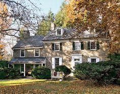 FARMHOUSE – vintage early american farmhouse in historic new england, such as this pennsylvania stone farmhouse.
