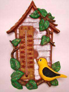 bird house dry brush