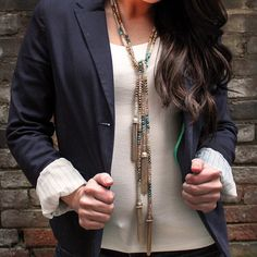 Gold Tassel Statement Necklace alistjewelry.com COMING SOON! Follow us on Instagram @a_list_jewelry for updates!