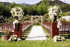 pinterest elegant wedding ceremony decorating ideas | Simply Stunning Wedding Ceremonies » The Bridal Detective