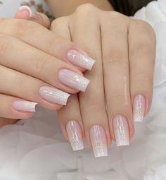 Best Nails ideas & tutorials of 2018 Simple Acrylic Nails, Simple Nails, Pink Nails, White Nails, Brown Nails, Black Nail, Fiberglass Nails, How To Grow Nails, Neutral Nails