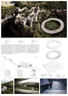 YAC is a association whose aim is to promote architectural competitions amongst young designers – no matter if graduates or students. Prague Architecture, Architecture Panel, Architecture Details, Landscape Architecture, Architecture Diagrams, Design Competitions, Conceptual Drawing, Principles Of Design, Urban Design