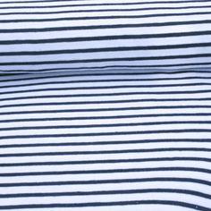 Campan jersey white/ navy, cotton jersey, cotton stretch, cotton knit, dress fabrics, natural cotton, Oeko-tex, dressmaking fabrics, eco jersey DRAGONFLY FABRICS £19.50/metre 145cm wide
