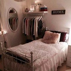 For the guest bedroom? Instead of nightstand in the corner, hanging space for guests...also want this by my dresser for outfits for the week :)